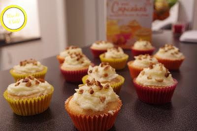 Test Cupcakes noix de pécan - Francine