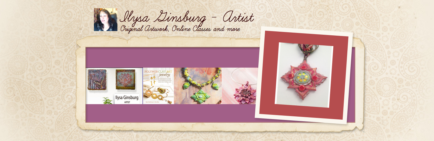 Emerald Earth Designs by Ilysa Ginsburg Polymer Clay and Mixed Media Art and Tutorials