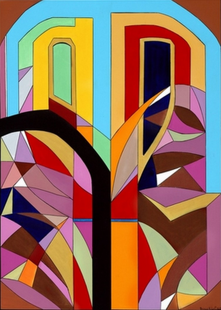 Cuadros modernos pinturas y dibujos modernos oleos multi for Pinturas bruguer colores