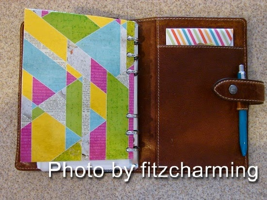 Filofax Malden Back Inside Cover