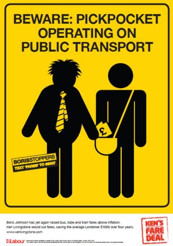 Beware pickpockets: Ken's ad campaign