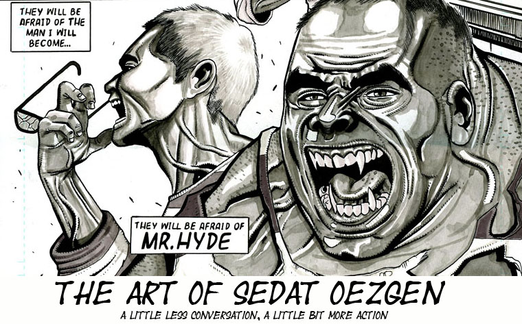 the Art of Sedat Oezgen