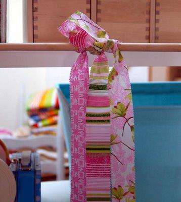 Como hacer cortina de colores y sencilla - Como hacer cortinas de tiras ...