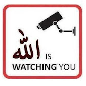Allah is watching u ..:) n me also ..