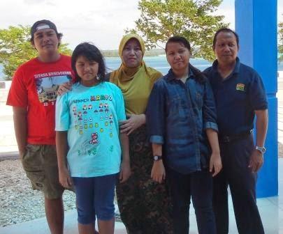 Bersama Keluarga di Tual