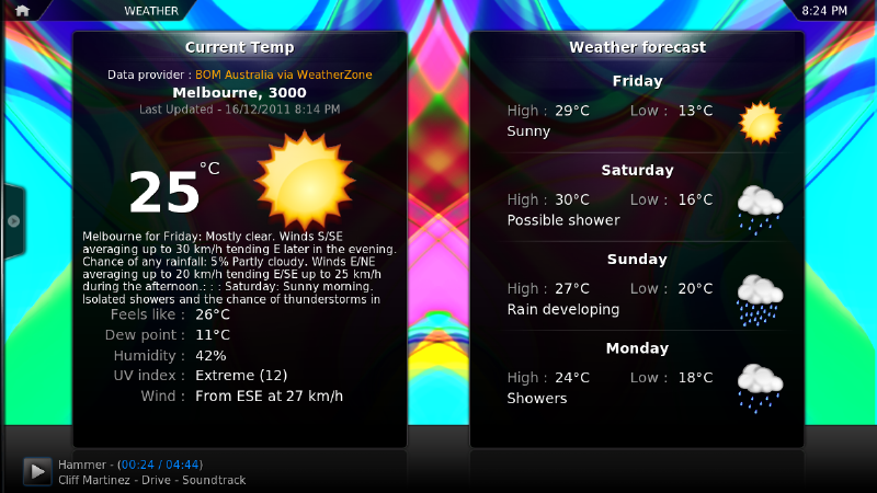 Tutorial: Meteorologia no KODI 1