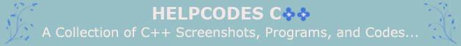 Helpcodes