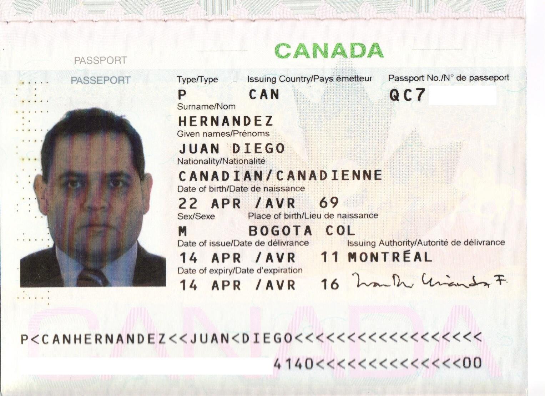 Pereiranos al Canadá