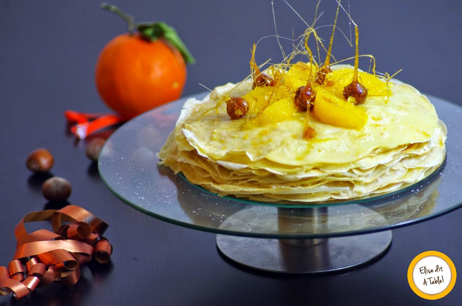 recette Gâteau de crêpes