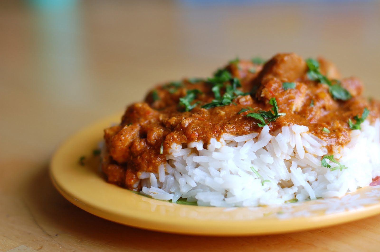Barefoot and Baking: Crockpot Coconut Chicken Curry