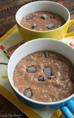 Schokolade, Birne, Tassenkuchen, Mug-Cakes, Mugcake, Mug Cakes, Tassen-Kuchen, Becher-Kuchen, Kuchen im Glas, Mikrowelle, Birnenkompott