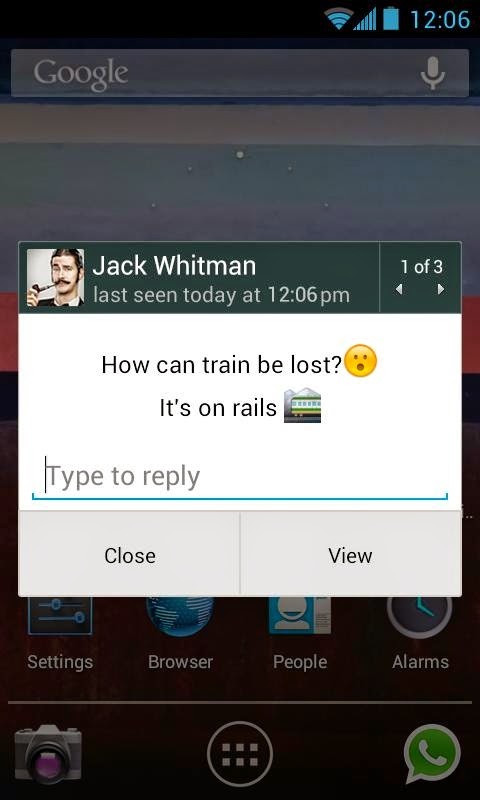 Aplikasi Android WhatsApp Messenger Terbaru Asik - 4