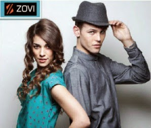 Zovi : Clothing, Footwears & Accessories upto 70% + Rs. 150 off on Rs.550 + upto 20% off + upto 5% off (elite members)
