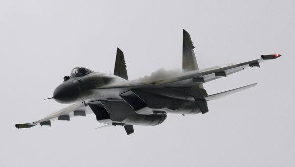 Najnowszy mysliwiec SU-35S