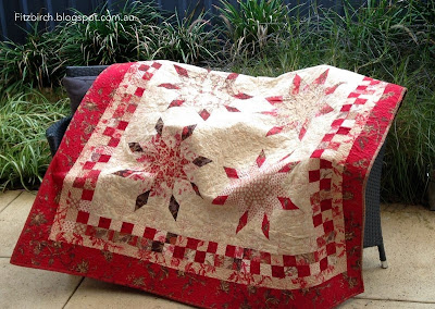 diy lone star quilt with directions