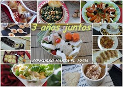 Concurso 3 aos de blog, recetas para nios