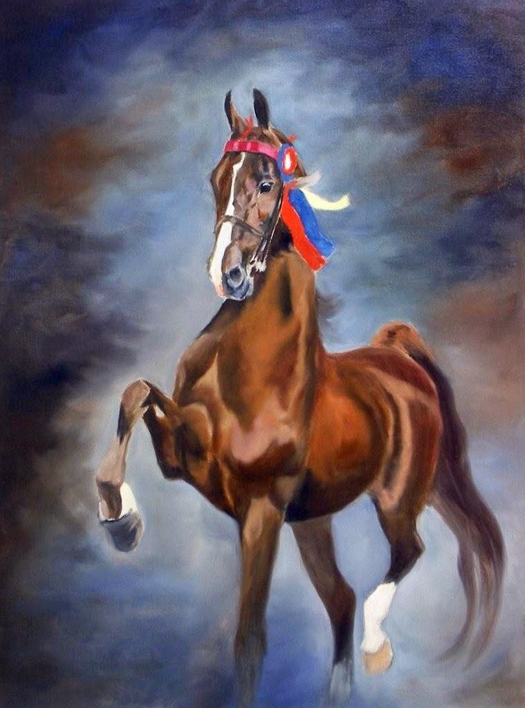 caballos-en-arte-realista-al-oleo