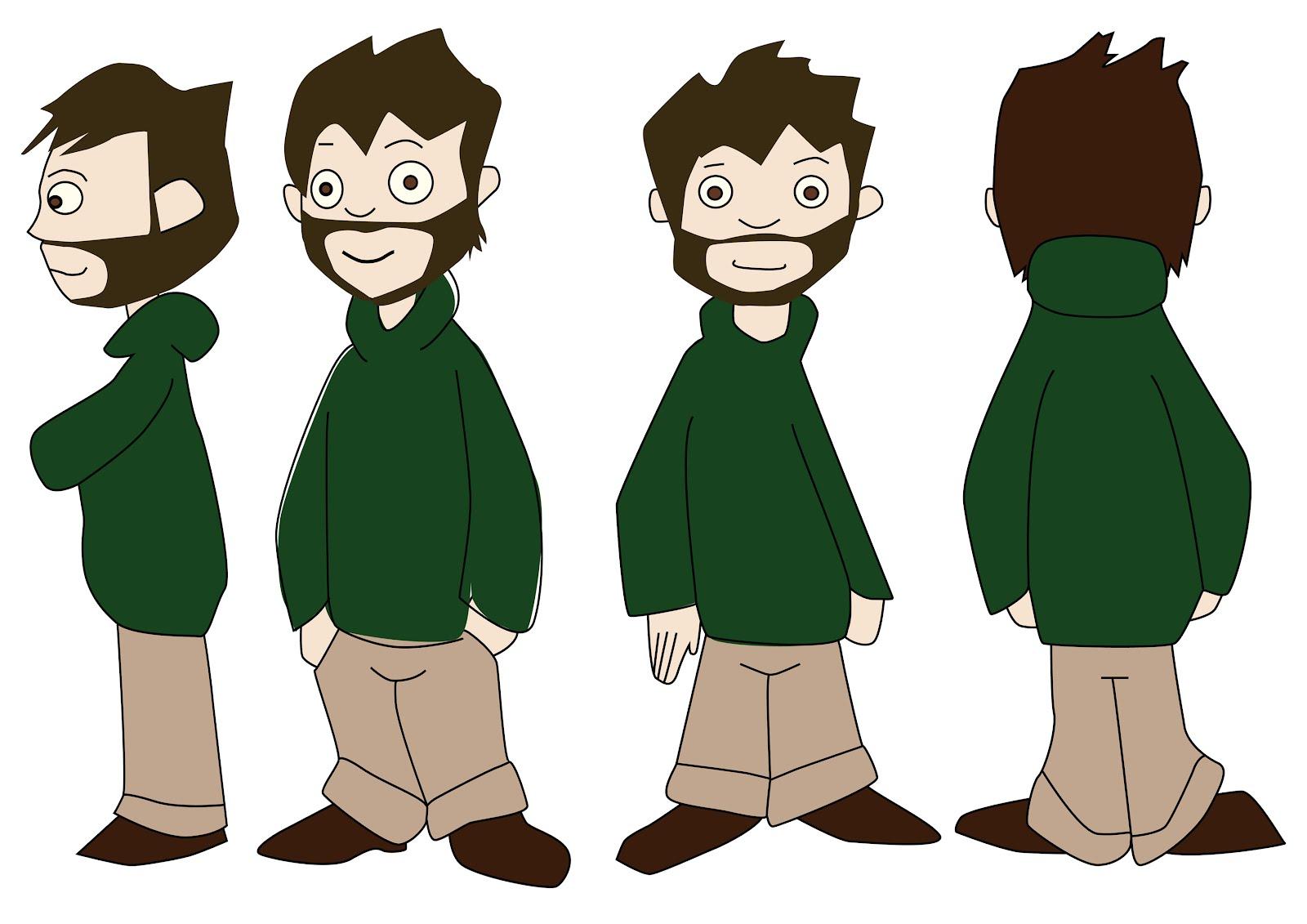 2d Character Design Books : My art d character design jamie hooper