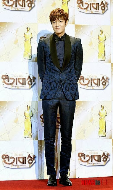 Lee Min Ho at SBS Drama Awards 2013