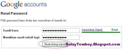 Reset Password Gmail Hack