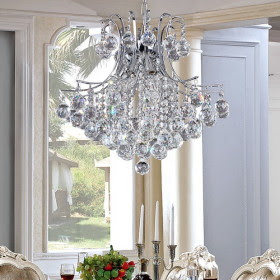 Regalos caros l mpara de ara a chandelier moderna de cristal - Lamparas arana modernas ...