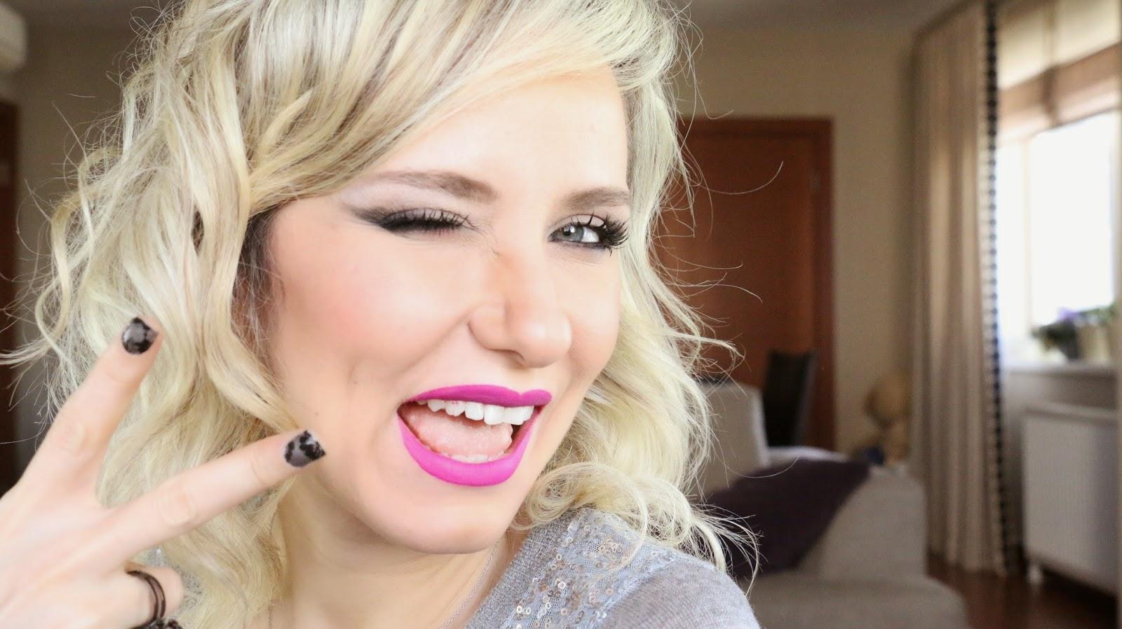 lime crime - gosh - boombastic - makyaj uygulamaları - makyaj blogları - kozmetik blogları - türk youtuber - beauty blogger - lime crime utopia