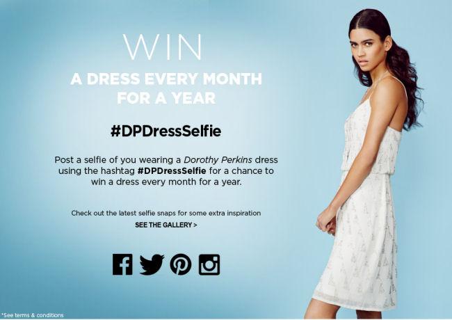 #DPDressSelfie Competition