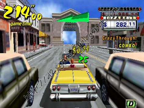 Free Download Games - Crazy Taxi