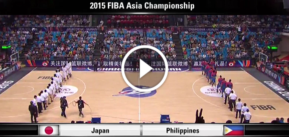 Fiba Asia 2015: Gilas Pilipinas def. Japan, 81-70 (REPLAY VIDEO) PHL Advances To Finals Against China