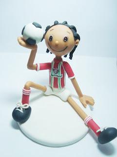 jogador de futebol de biscuit