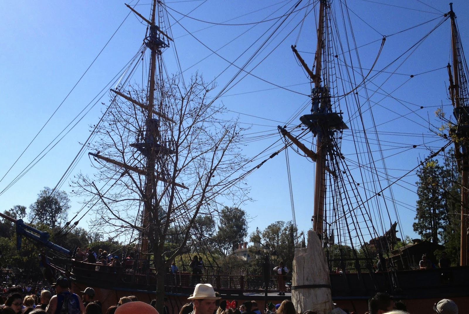 Columbia ship at Dapper Day Spring 2014