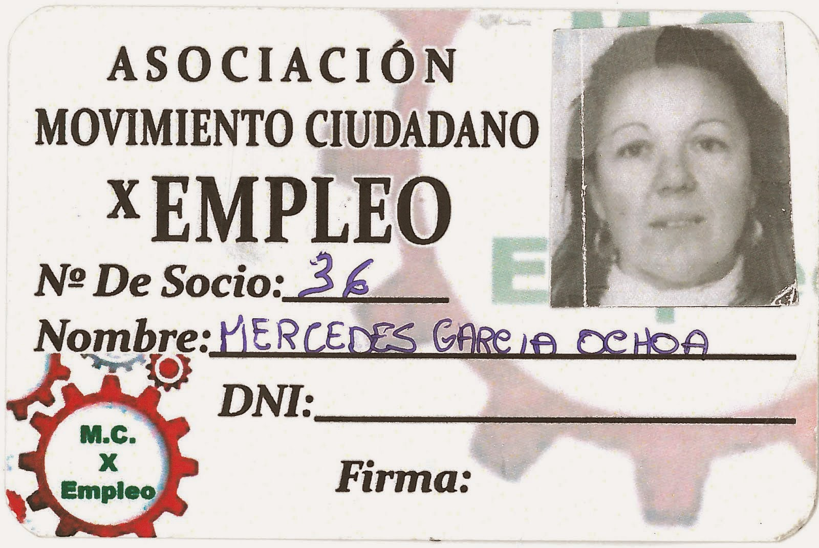 MERCEDES GARCIA OCHOA