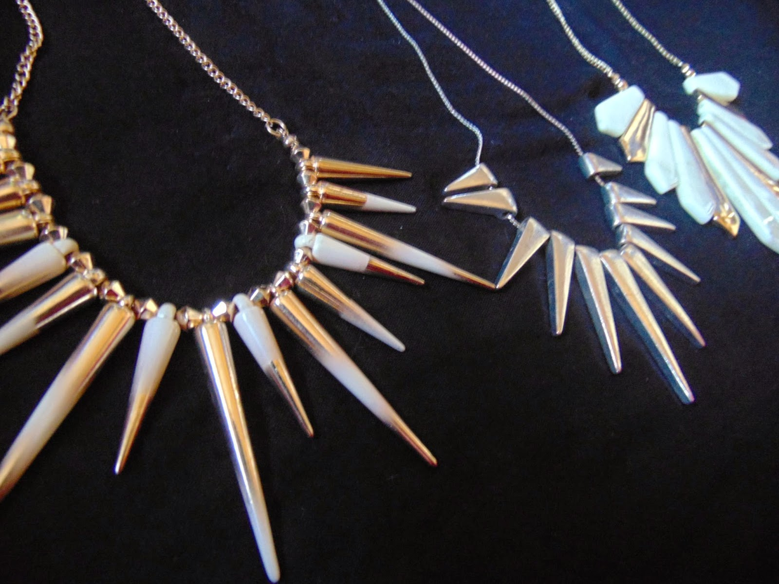 spike necklace statement