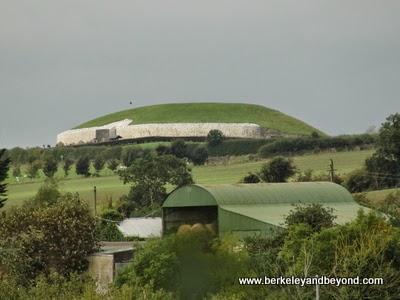 Newgrange site near Dublin, Ireland