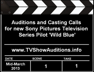 Fox TV Wild Blue Auditions Casting Calls