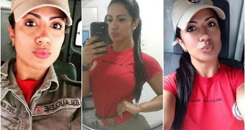 Bombeira carioca faz sucesso na internet devido a sua beleza!
