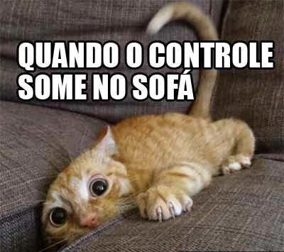 Quando o controle some do sofá