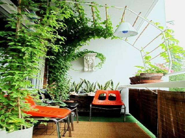 Making a terrace garden or rooftop garden ideas for Balcony garden
