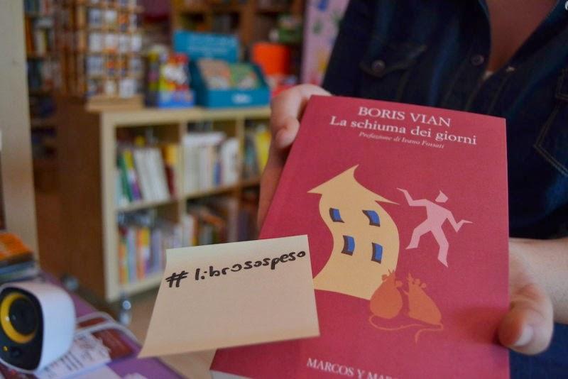 idee, storie, connessioni: l'iniziativa #librosospeso e il piacere della lettura