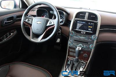 Novo Chevrolet Malibu 2013 - interior
