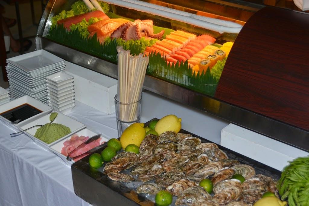 Bimi Beach Club Barbecue Phuket oyster