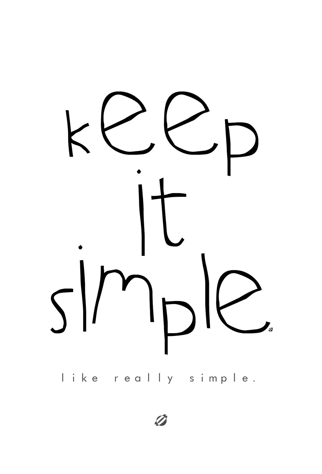 LostBumblebee ©2014 Keep it Simple Free Printable