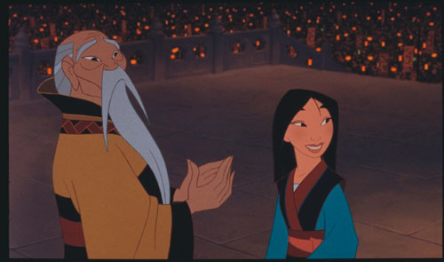 With the emperor Mulan 1998 animatedfilmreviews.blogspot.com