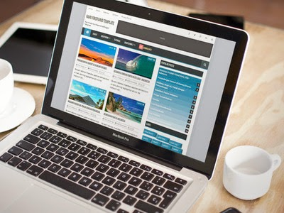 Fajri FirstGrid Blogger Templates