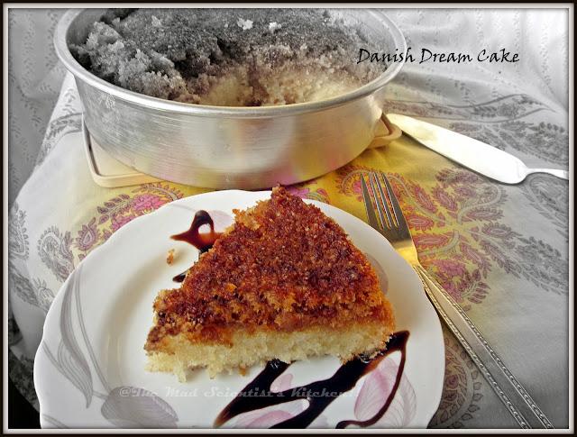 Danish Dream Cake Sunday Brunch