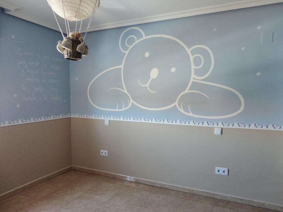 Decopared decoraci n de habitaciones infantiles - Decoracion paredes infantiles ...