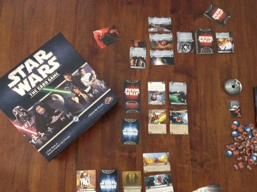 Card Wars Card Game Review Star Wars Card Game by Fantasy