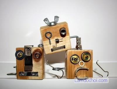 Tự Làm Móc Khóa Robot Handmade