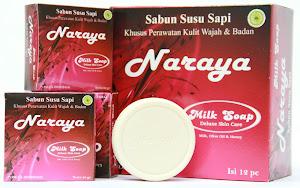 "Sabun Susu Sapi ""Naraya"""