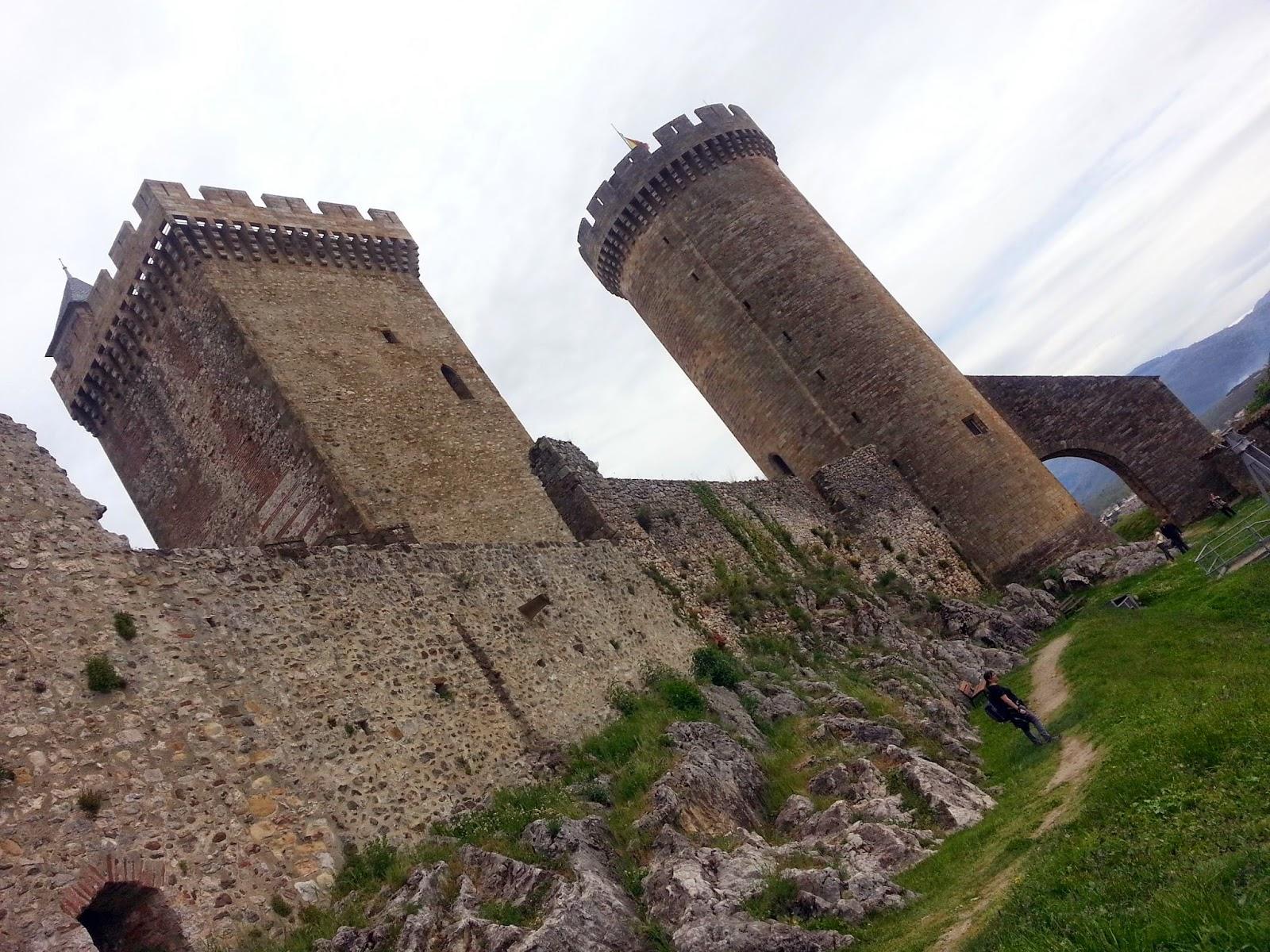 Castillo de Foix, Francia